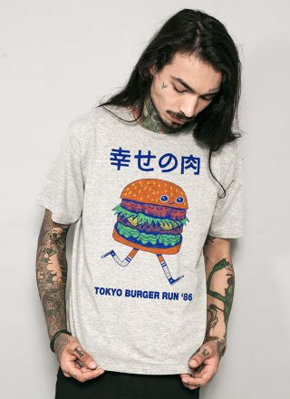 T-shirt Burger Run '89