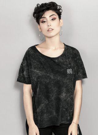 T-shirt Marmorizada Tsuru