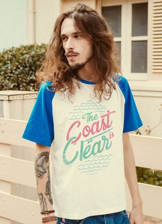 T-shirt The Coast is Clear