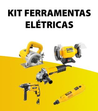 Kit ferramentas eletricas