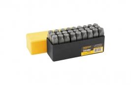 Alfabeto de Aço 5mm Dureza 58 a 63 HRC Profissional - VONDER