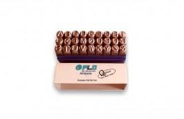 Alfabeto de Aço para Bater de 6MM PLK-40 - PLD