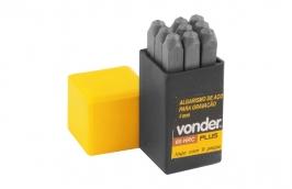Algarismo de Aço 4mm Dureza 58 a 63 HRC Profissional - VONDER