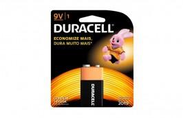 Bateria 9V Alcalina MN1604 - Duracell