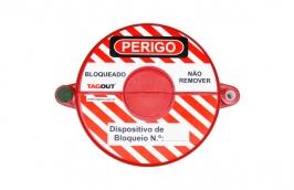 Bloqueio Valvula Registro de 3'' a 5'' BVR130 - TAGOUT