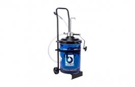 Bomba óleo manual 24 Litros com Carrinho 8632-R20 G3 - BOZZA