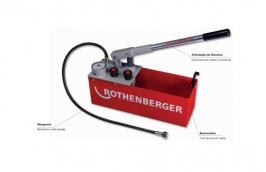 Caixa de Ensaio para Teste Hidrostático 60 Bar A61130S - ROTHENBERGER