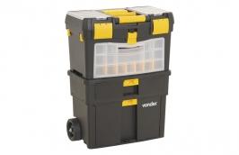 Caixa de Ferramentas Plástica com Rodas 460 x 260 x 620mm CRV0100 - VONDER
