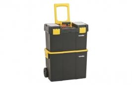Caixa de Ferramentas Plástica com Rodas 460 x 260 x 625mm CRV0300 - VONDER