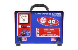 Carregador de Bateria Rápido / Lento CB-030/40 Compact