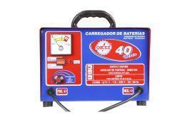 Carregador de Bateria Rápido / Lento CB-030/40 Moto