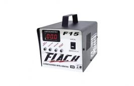Carregador Inteligente a Bateria 15A-12V Bivolt F-15 - Flach
