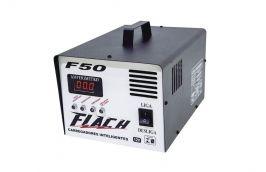 Carregador Inteligente de Bateria 50A-12V Bivolt F-50 - Flach