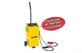 Carregador Inteligente de Bateria Bivolt com Auxílio Partida 60A 12/24V CIB 800 - VONDER