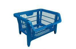 Cesto Expositor Plástico Prático Azul 42500 - PRESTO