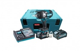 Chave de Impacto 40V 3/4 4AH TW001GM201 220V BL 2 Baterias 4AH com Carregador - MAKITA