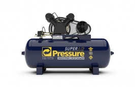 Compressor 10/175LT 2CV Trifásico 220/380V 140 LB Super ar - PRESSURE