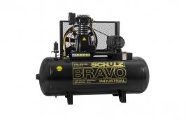 Compressor 20/200LT 5CV Trifásico 175LB CSL 20BR Bravo Pro - SCHULZ
