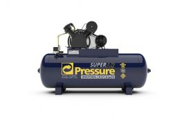 Compressor 5HP Trifásico 20PCM 250 Litros 175LB Super AR - Pressure