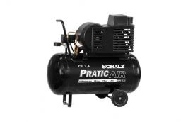 Compressor CSI 7,4 Pés / 50 Litros 125 LBS Pratic Air