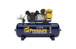 Compressor de Ar Gasolina 15 Pés 140PSI 200 Litros - PRESSURE