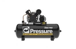 Compressor de Ar Onix 15 pés 200 litros 175 libras Monofásico - Pressure