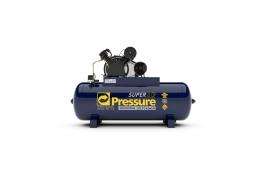 Compressor Super Ar 20/250LT 5 Cavalos Trifásico 220/380V 175LB - PRESSURE