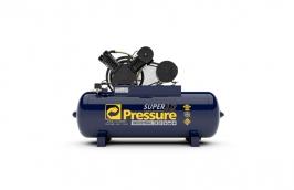 Compressor Super Ar 30/250LT 7,5 Cavalos Trifásico 220/380V 175LB - PRESSURE