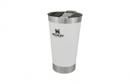 Copo Térmico em Aço Inox com Tampa 470ML Branco 8031 - STANLEY PMI