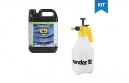 Desengraxante industrial Quimatic ED BIO 5L + Pulverizador manual 1,5 Litros