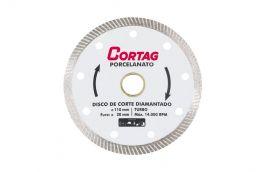 Disco de Corte Diamantado Turbo 110mm SECO 1,2 - CORTAG