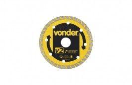 Disco de Corte Diamantado Turbo Seco 110MM V2 - Vonder