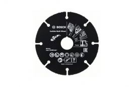 Disco de Corte para Esmerilhadeira Madeira e Plástico 125x22.3mm - Bosch