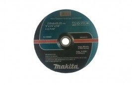"Disco de Desbaste para Ferro 9X1/4X7/8"" D19869-5 - Makita"