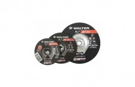 "Disco de Desbaste para Ferro de 7 x 1/4 x 7/8"" Double 08K700 - Walter"