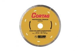 Disco Diamantado Continuo 200 mm Amarelo ZAPP200/1250 - Cortag