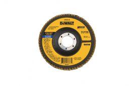 Disco FLAP com Suporte de Fibra 4.1/2 X 7/8'' DW8310-AR Grão 120 - Dewalt
