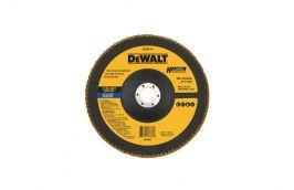 Disco FLAP Fibra 7'' 7/8' Grão 120 DW8325-AR - Dewalt