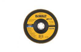 Disco FLAP Fibra 7'' 7/8' Grão 40 DW8322-AR - Dewalt