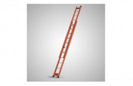Escada de Alumínio/Fibra Extensiva com Degrau Vazado de 5,90 x 9,90 EAFV-32 - Sintese