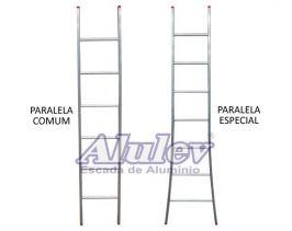Escada de Alumínio Paralela Especial PE-108 - Alulev