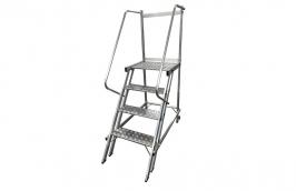 Escada Trepadeira de Alumínio com 3 Degraus e com Plataforma TRE1000 - ESCALEVE