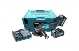 Esmerilhadeira à Bateria 4.1/2 40V GA004GM201 220V BL 2 Baterias 4AH com Carregador - MAKITA