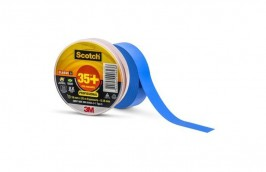 Fita Isolante Scotch 35+ 19mm x 20M Azul - 3M