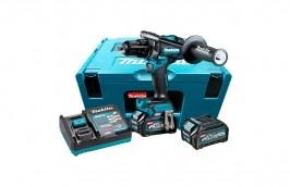 Furadeira de Impacto / Parafusadeira 40V 1/2 HP001GD201 110V BL 2 Baterias 2,5AH com Carregador - MAKITA