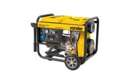 Gerador à Diesel 5 KVA Partida Manual GDV-5500 sem Bateria