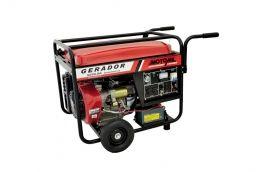 Gerador à  Gasolina 8000KVA 15HP 4 Tempos Monofásico MGG-8000CLE - Motomil