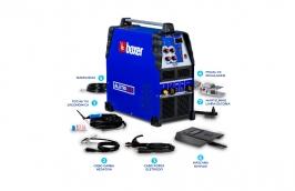 Inversora Solda Bivolt 110/220V TIG 200A ALUTIG 200AC/DC - BOXER