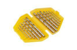 Jogo de Brocas Aço Rápido de 1,5 a 6,5 mm com 13 peças