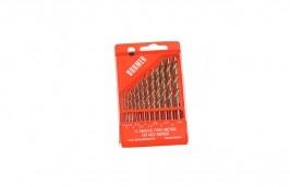 Jogo de Brocas de Aço Rápido Paralelas de 1,5 a 6,5 mm com 13 peças - Dormer